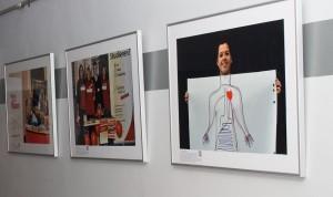 Die Ausstellungsstücke spiegeln das bunte und vielfältige Engagement der Studierenden wieder.